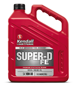 SUPER-D FE® DIESEL ENGINE OIL WITH LIQUID TITANIUM®